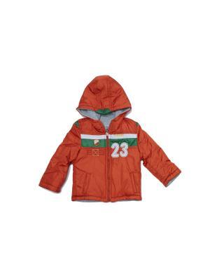 Куртка для мальчиков Pilota. Цвет: оранжевый
