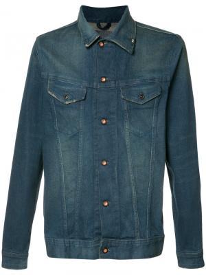 Джинсовая куртка Denham. Цвет: синий