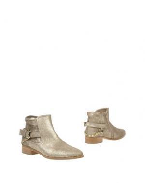 Полусапоги и высокие ботинки NORMA J.BAKER. Цвет: золотистый