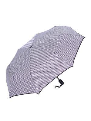 Зонт складной NUAGES. Цвет: белый, бордовый, черный