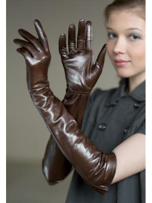Перчатки Eleganse. Цвет: коричневый
