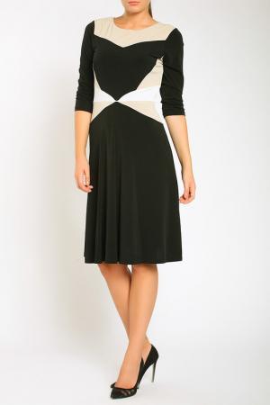 Платье Bellissima. Цвет: black, cream, white