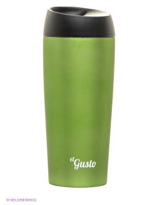Термокружка GRANO ELGUSTO. Цвет: зеленый