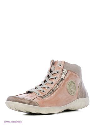 Ботинки Remonte. Цвет: розовый