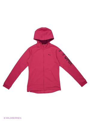 Толстовка Style FZ Hoody FL G Puma. Цвет: розовый