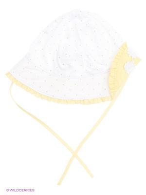 Панама CHICCO. Цвет: белый, желтый