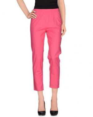 Повседневные брюки CORINNA CAON. Цвет: фуксия