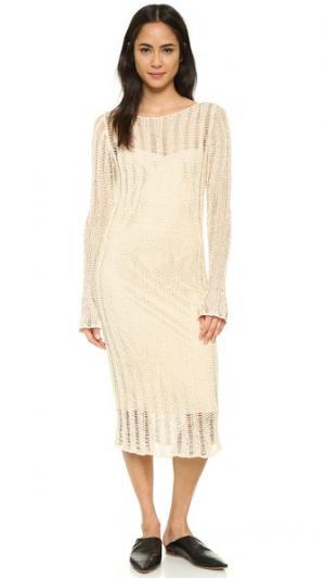 Платье Gianna Crippen. Цвет: белый