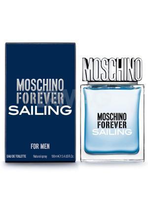 Forever Sailing man edt 100 ml MOSCHINO. Цвет: темно-синий
