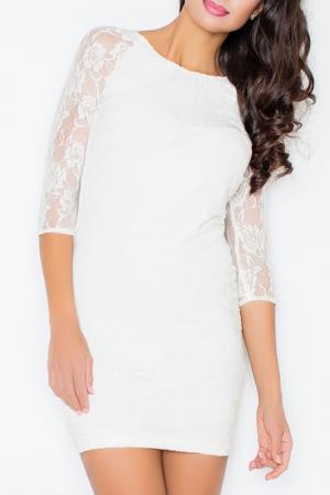 Платье Figl. Цвет: ecru