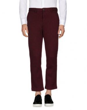 Повседневные брюки DERRIÉRE. Цвет: пурпурный
