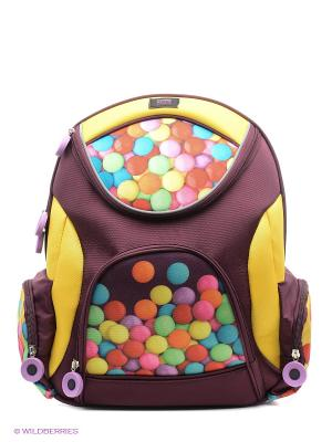 Рюкзак PROFF. Цвет: коричневый