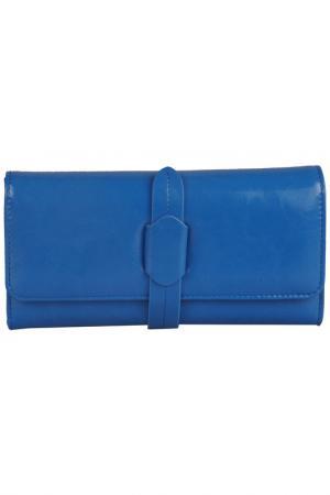 Бумажник MATILDA ITALY. Цвет: синий