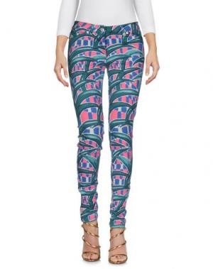 Джинсовые брюки KENZO. Цвет: зеленый