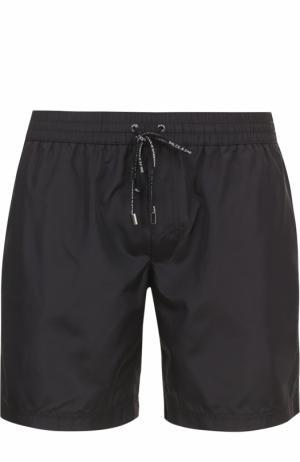 Плавки-шорты с карманами Dolce & Gabbana. Цвет: черный