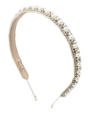 Аксессуар для волос DEEPA GURNANI. Цвет: слоновая кость