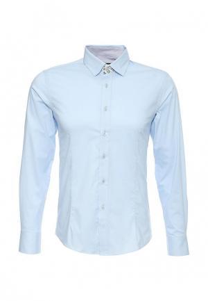 Рубашка Tony Moro. Цвет: голубой