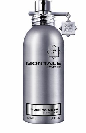 Парфюмерная вода Musk To Montale. Цвет: бесцветный