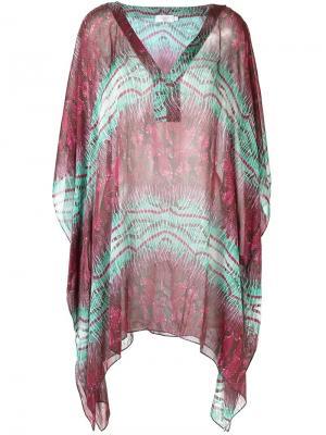 Printed beach dress Brigitte. Цвет: многоцветный