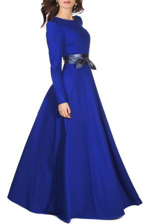 Платье Olivegrey. Цвет: ультрамариновый
