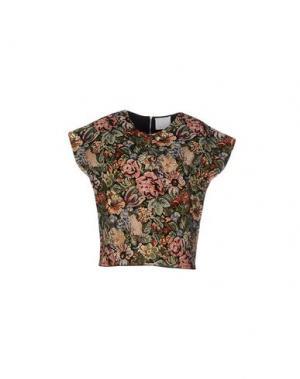 Блузка PRINCESSE METROPOLITAINE. Цвет: зеленый