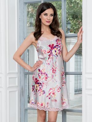 Сорочка MIA-AMORE. Цвет: серый