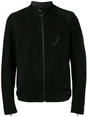 Soft biker jacket Belstaff. Цвет: чёрный
