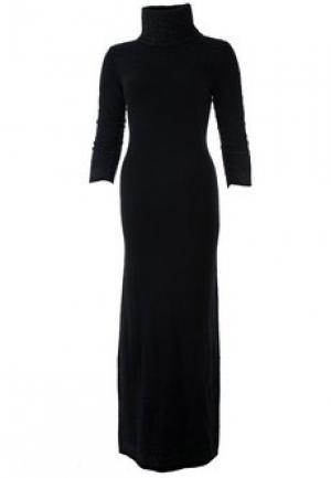 Платье FRANCESCA PICCINI. Цвет: черный