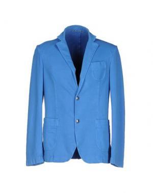 Пиджак FRADI. Цвет: лазурный