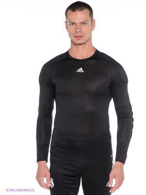 Лонгслив Gk Undershirt Adidas. Цвет: черный
