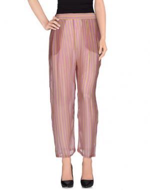 Повседневные брюки MES DEMOISELLES. Цвет: фиолетовый