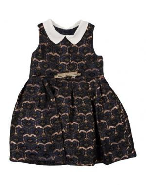 Платье HUCKLEBONES. Цвет: темно-синий