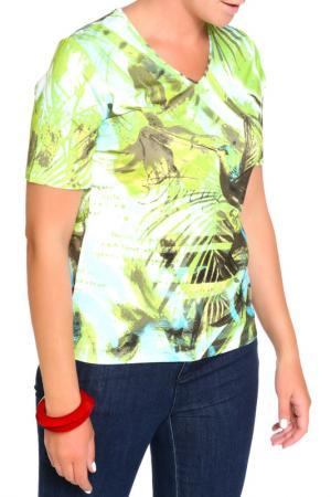 Блуза HELENA VERA. Цвет: фисташка