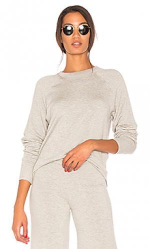 Пуловер warm up Splits59. Цвет: светло-серый