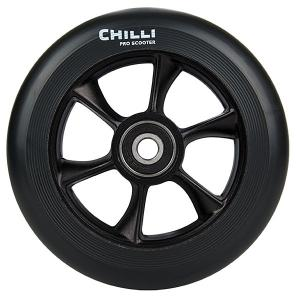 Колесо для самоката  Turbo Wheel 110mm Black Chilli. Цвет: черный