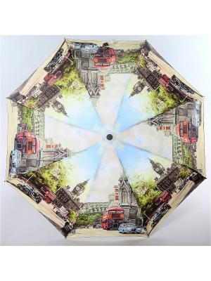 Зонт Magic Rain. Цвет: антрацитовый, серо-голубой