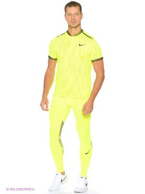 Тайтсы HYPERCOOL TIGHT Nike. Цвет: желтый