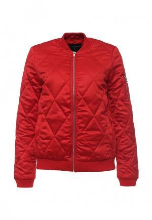 Куртка утепленная Dorothy Perkins. Цвет: красный