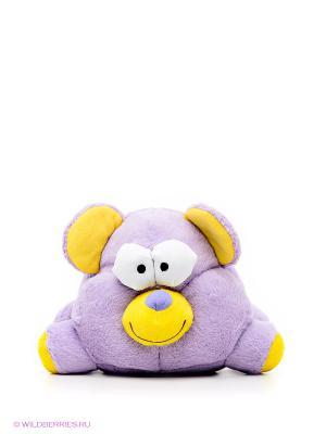 Мягкая игрушка Хохотун - медведь Woody O'Time. Цвет: сиреневый, желтый