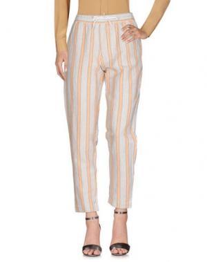 Повседневные брюки FRENCH CONNECTION. Цвет: белый