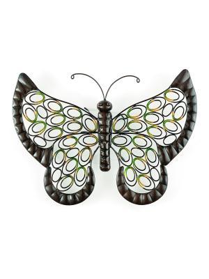 Декор Бабочка Gardman. Цвет: золотистый