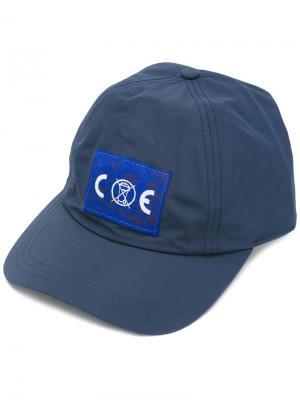 Кепка с принтом логотипа Cav Empt. Цвет: синий