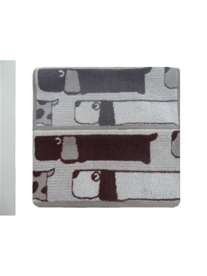 Набор полотенец A and C Collection. Цвет: бежевый,серый