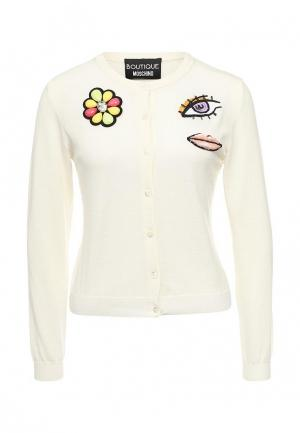 Кардиган Boutique Moschino. Цвет: белый