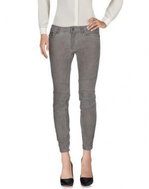 Повседневные брюки DRYKORN. Цвет: серый