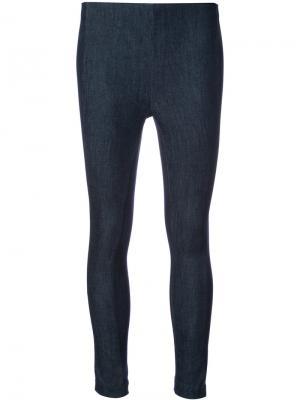 Облегающие брюки Rag & Bone. Цвет: чёрный