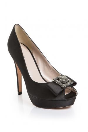 Туфли из натуральной кожи 189552 Bourne. Цвет: черный