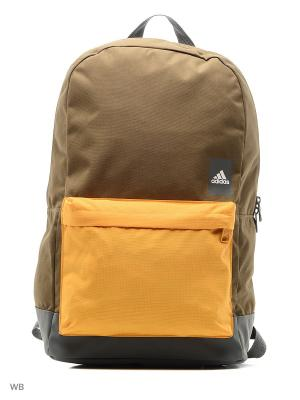Рюкзак A CLASSIC M BLO TRAOLI/GREFIV/WHITE Adidas. Цвет: коричневый, оранжевый
