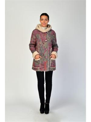 Куртка Maria Velada. Цвет: серый, фиолетовый