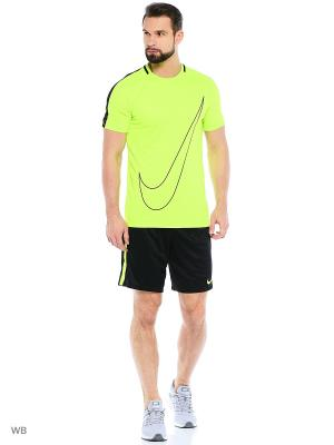 Футболка M NK DRY ACDMY TOP SS GX Nike. Цвет: зеленый